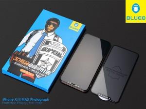 محافظ صفحه نمایش حریم شخصی بلوئو مدل ANTI-PEEP مناسب برای گوشی موبایل اپل iPhone 11 Pro Max/XS Max