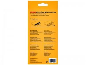 کاغذ چاپ عکس دوربین چاپ فوری و پرینتر کداک مدل All-in-one Mini cartridge بسته 20 عددی