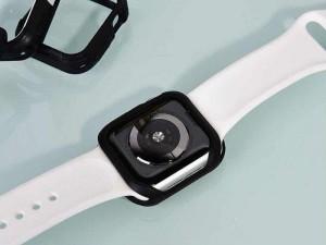 قاب محافظ اپل واچ سری 4 و 5 کوتچی مدل CS7502-BK مناسب برای سایز 44 میلی متری