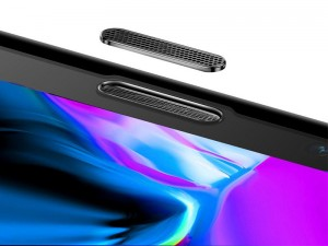 محافظ صفحه نمايش بیسوس مدل Anti-Blue light مناسب برای گوشی موبایل اپل iPhone 11 Pro/XS با قابلیت محافظت از اسپیکر گوشی