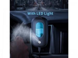 دستگاه بخور سرد خودرو بیسوس Mini Spaceship Car Magnetic Humidifier بهمراه هولدر مگنتی