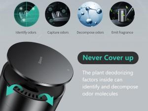 خوشبو کننده و تصفیه هوای خودرو بیسوس مدل Minimalist Car Cup Holder Air Freshener