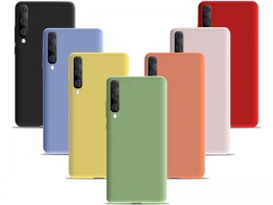 کاور سیلیکونی مدل Silky and Soft touch finish مناسب برای گوشی موبایل سامسونگ A70
