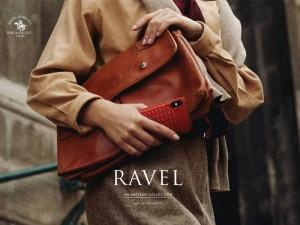 کاور چرمی سانتا باربارا پولو مدل RAVEL مناسب برای گوشی موبایل آیفون X/Xs