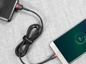 کابل تبدیل USB به MicroUSB بیسوس مدل Cafule Cable