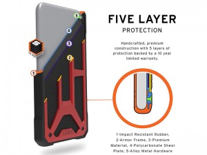 کاور UaG مدل Monarch Series مناسب برای گوشی موبایل آیفون 11 پرو