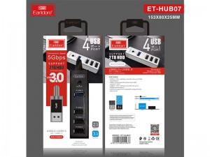 هاب 4 پورت ارلدام مدل ET-HUB07
