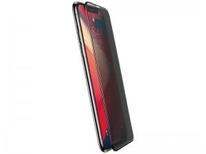 محافظ صفحه نمايش بیسوس مدل Curved Screen Anti-peeping Tempered Glass مناسب برای گوشی موبایل اپل iPhone 11 Pro/XS (پک 2 عددی)