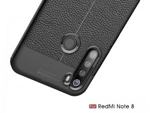 کاور طرح چرم Auto focus مناسب برای گوشی موبایل شیائومی Redmi Note 8