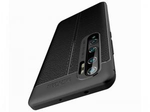 کاور طرح چرم Auto focus مناسب برای گوشی موبایل شیائومی Mi Note 10