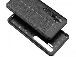 کاور طرح چرم Auto focus مناسب برای گوشی موبایل شیائومی Mi Note 10 Pro