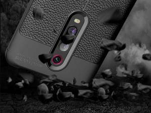 کاور طرح چرم Auto focus مناسب برای گوشی موبایل شیائومی Mi 9T