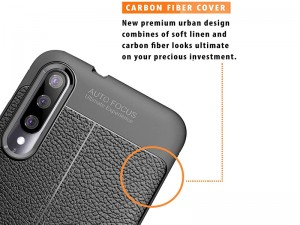 کاور طرح چرم Auto focus مناسب برای گوشی موبایل شیائومی Mi 9 Lite