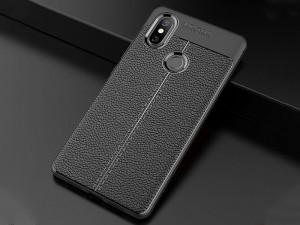 کاور طرح چرم Auto focus مناسب برای گوشی موبایل شیائومی Mi 8