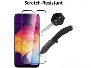 محافظ صفحه نمايش تمام چسب مناسب برای گوشی موبايل سامسونگ A30s