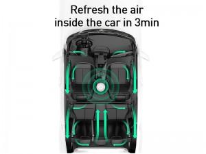 دستگاه بخور سرد و تصفیه هوای بیسوس مدل CRJHQ01 Freshing Breath Car Air Purifier