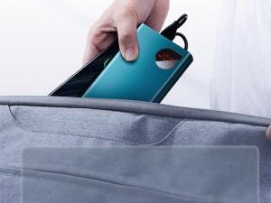 پاور بانک فست شارژ 20000 میلی آمپر بیسوس مدل Adaman Metal Digital Display