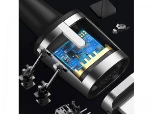 کابل مگنتی سه کاره بیسوس مدل Zinc Magnetic Cable Kit