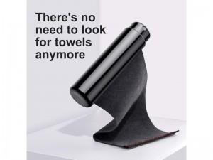 اسپری تمیز کننده ضد آب بیسوس مدل Rearview Mirror Rainproof Sprayer بهمراه دستمال