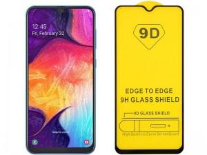 محافظ صفحه نمايش مدل 9D مناسب برای گوشی موبايل سامسونگ A20