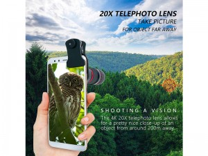 لنز تلسکوپی گوشی موبایل مدل Pro Series Telephoto LENS 18X