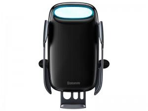 پایه نگهدارنده و شارژر وایرلس گوشی موبایل بیسوس مدل Milky Way Electric