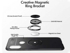 کاور حلقه انگشتی مدل Becation مناسب برای گوشی موبایل شیائومی Redmi Note 6 Pro