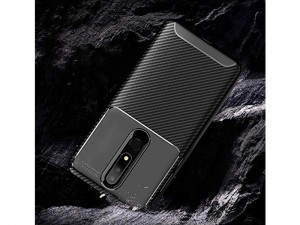 کاور فیبر کربنی اتوفوکوس مناسب برای گوشی موبایل نوکیا 3.1 پلاس