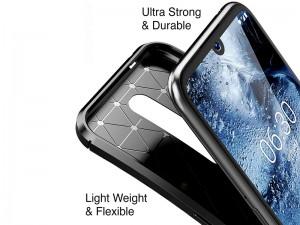 کاور فیبر کربنی اتوفوکوس مناسب برای گوشی موبایل نوکیا 4.2
