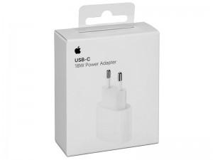 شارژر دیواری فست شارژ 18 وات اپل مدل MU7V2ZM/A USB-C Power Adapter