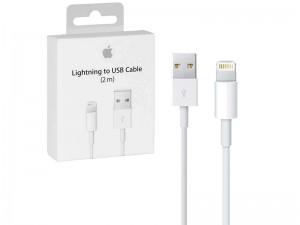 کابل اورجینال Lightning به USB اپل مدل A1510 MD819ZM/A به طول 2 متر