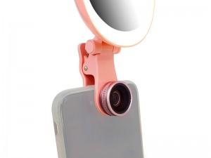 رینگ لایت عکاسی کرایسیو مدل M928 بهمراه آینه و لنز کلیپسی موبایل