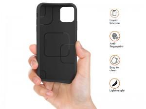 کاور سیلیکونی آها استایل مناسب برای گوشی موبایل آیفون 11 پرو بهمراه گلس صفحه نمایش