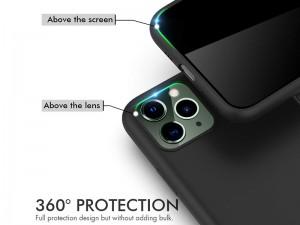 کاور سیلیکونی آها استایل مناسب برای گوشی موبایل آیفون 11 پرو مکس بهمراه گلس صفحه نمایش
