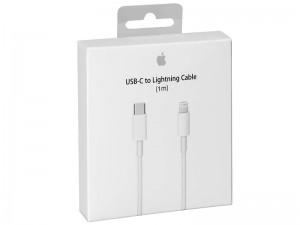 کابل اورجینال USB-C به Lightning اپل مدل A1703 به طول 1 متر