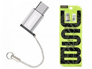 مبدل MicroUSB به Type-C ریمکس مدل RA-USB1