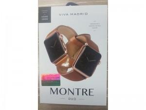 بند چرمی ویوا مادرید مدل Montre DUO مناسب برای اپل واچ 44/42 میلی متری