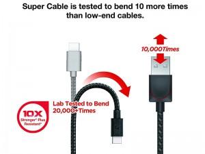 کابل تبدیل USB به Lightning هالوبک مدل سوپر کابل