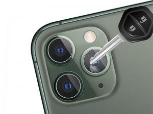 محافظ لنز دوربین مناسب برای گوشی موبایل آیفون 11 پرو