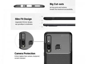 کاور طرح فیبر کربن بیکیشن مناسب برای گوشی موبایل سامسونگ A9 2018
