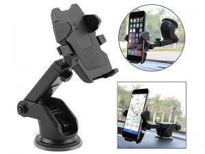 پایه نگهدارنده گوشی موبایل Long Neck One-Touch Car Mount