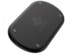 شارژر بی سیم سه کاره بیسوس مدل Smart 3in1 Wireless Charger با قابلیت شارژ اپل واچ 5