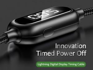 کابل لایتنینگ تایمردار یوسمز مدل US-SJ423 U48 Lightning Display Timing Cable