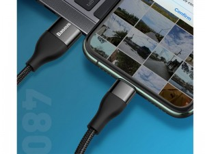 کابل شارژ و انتقال داده دو سر بیسوس مدل 2in1 Dual Output Cable