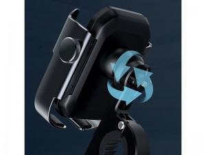 پایه نگهدارنده موبایل موتور و دوچرخه بیسوس مدل Armor Motorcycle Holder