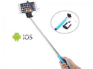 مونوپاد سیم دار مدل Selfie Stick Cable Take Pole