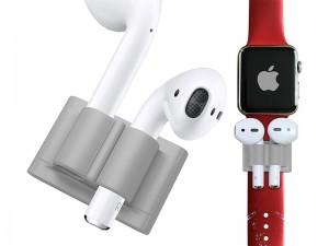 نگهدارنده ایرپاد بر روی بند اپل واچ