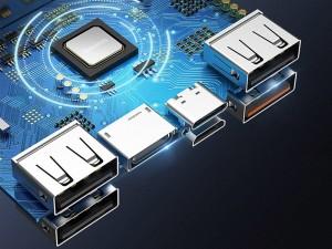پاور بانک فست شارژ 30000 میلی آمپر بیسوس مدل Amblight Quick Charge