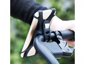 پایه نگهدارنده موبایل موتور و دوچرخه بیسوس مدل Miracle Bicycle Vehicle Mount