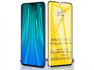 محافظ صفحه نمايش مدل 9D مناسب برای گوشی موبايل شیائومی Redmi Note 8 Pro